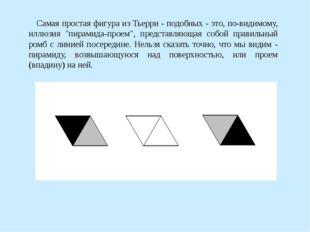"""Самая простая фигура из Тьерри - подобных - это, по-видимому, иллюзия """"пирам"""