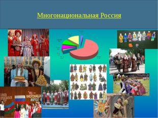 Многонациональная Россия Россия – многонациональная страна. Здесь проживает о