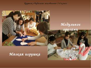 Кружок «Чудесные мгновения» 5-8 класс Модульное оригами Мягкая игрушка
