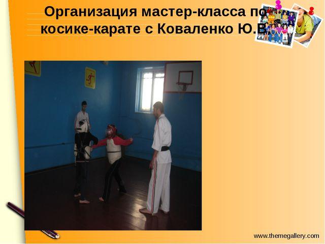 Организация мастер-класса по косике-карате с Коваленко Ю.В. www.themegallery....