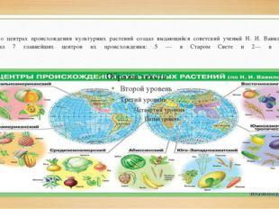 Учение о центрах происхождения культурных растений создал выдающийся советск