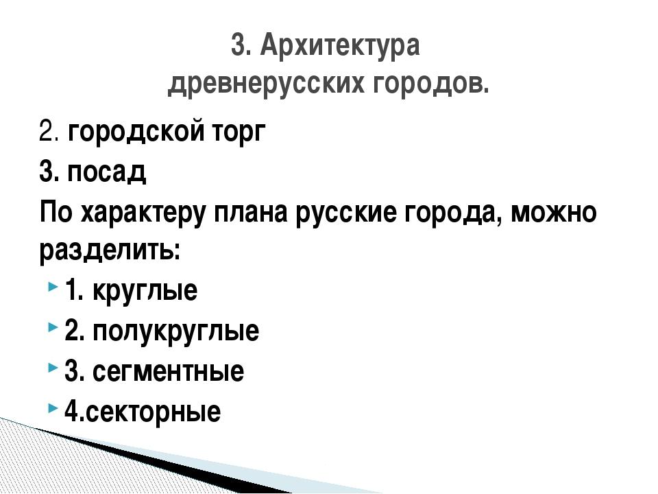 Первый план застройки Петербурга