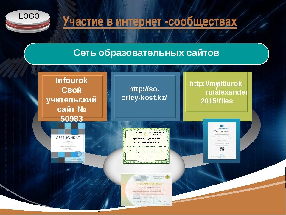 www.themegallery.com Участие в интернет -сообществах http://multiurok. ru/ale...