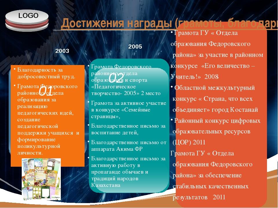 www.themegallery.com Грамота ГУ « Отдела образования Федоровского района» за...