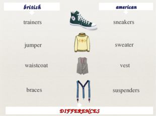 british american sneakers jumper sweater waistcoat vest braces suspenders DIF