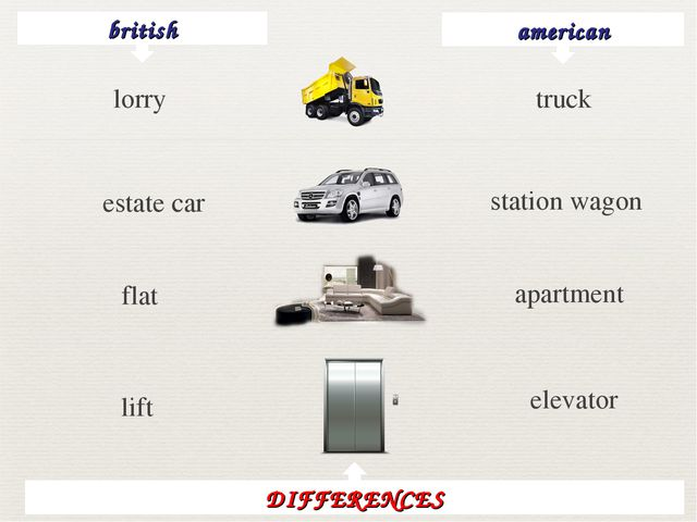 british american lorry truck estate car station wagon flat apartment lift ele...
