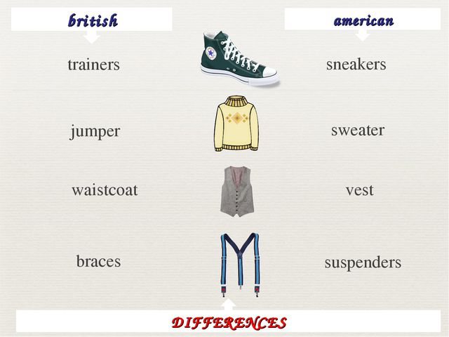 british american sneakers jumper sweater waistcoat vest braces suspenders DIF...