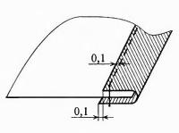 краевые машинные швы