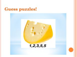 Guess puzzles!