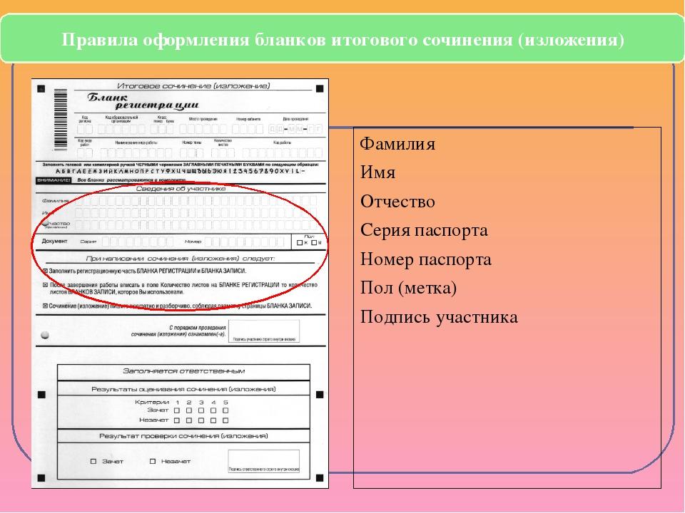 Фамилия Имя Отчество Серия паспорта Номер паспорта Пол (метка) Подпись участ...