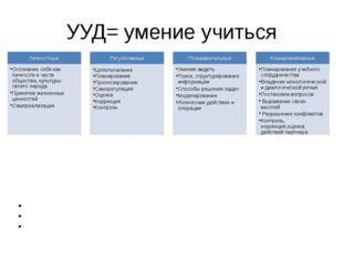 УУД= умение учиться Особенность формирования (развития) УУД в ИЗО – развитие