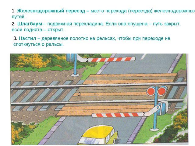 1. Железнодорожный переезд – место перехода (переезда) железнодорожных путей....