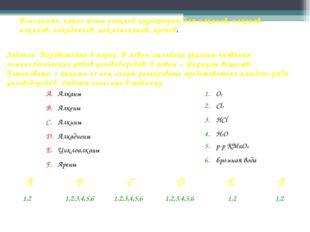 Вспомните, какие типы реакций характерны для алканов, алкенов, алкинов, алкад