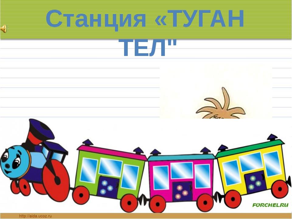 """Станция «ТУГАН ТЕЛ"""""""