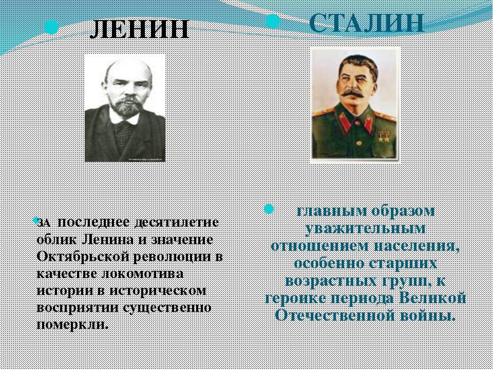 ЛЕНИН ЗА последнее десятилетие облик Ленина и значение Октябрьской революции...