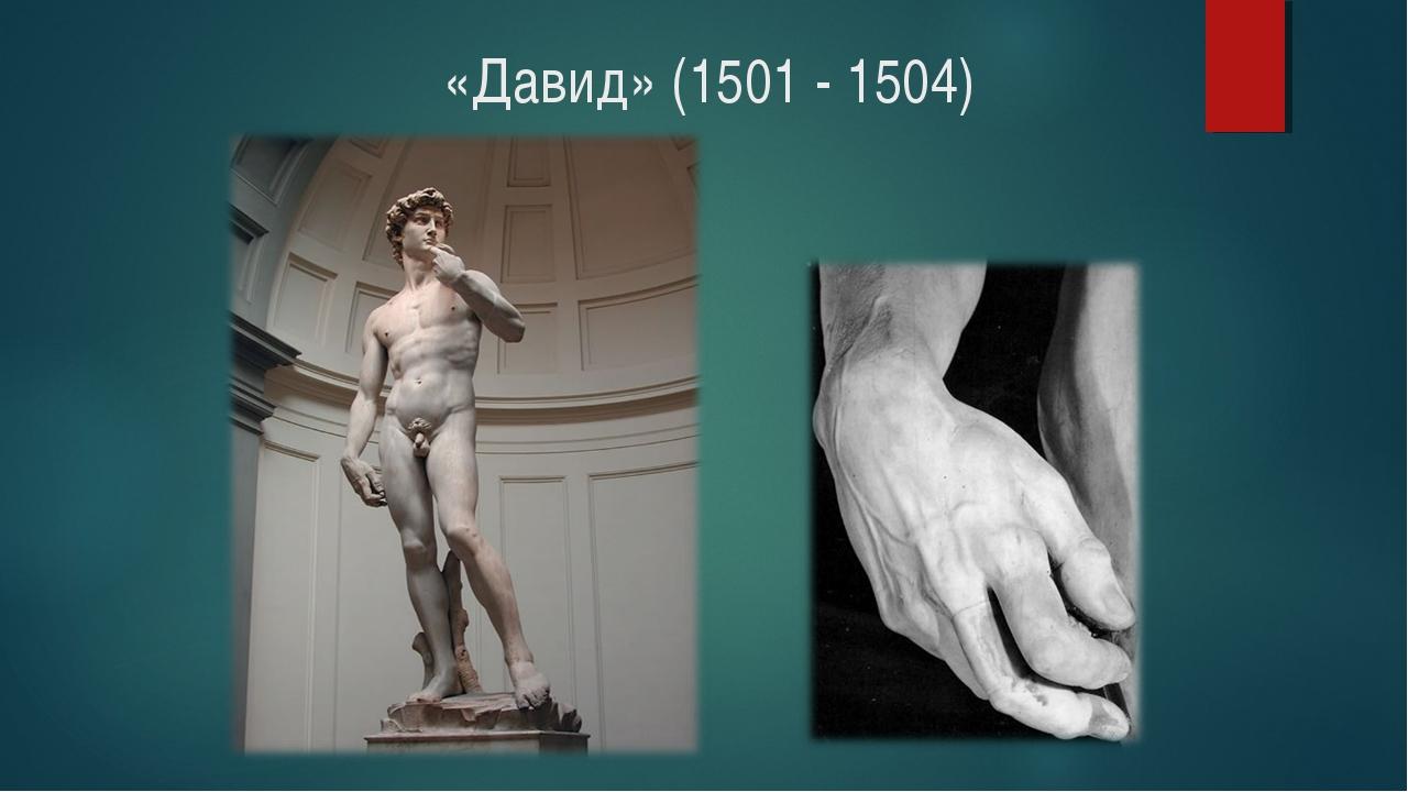 «Давид» (1501 - 1504)