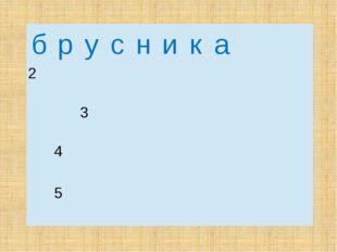 б р у с н и к а 2 3  4  5