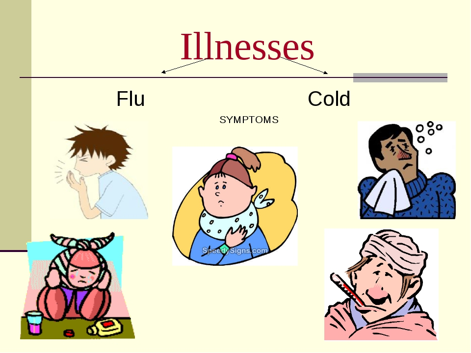 Illnesses Flu Cold SYMPTOMS