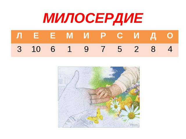 МИЛОСЕРДИЕ ЛЕЕМИРСИДО 31061975284