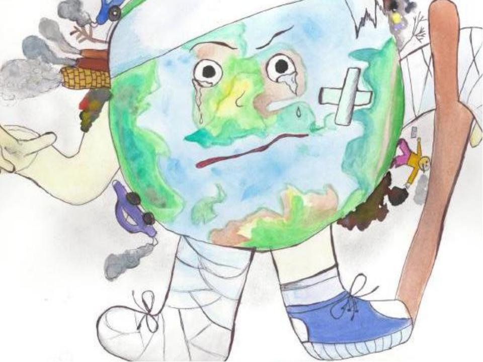 Конкурс рисунков мы против мусора