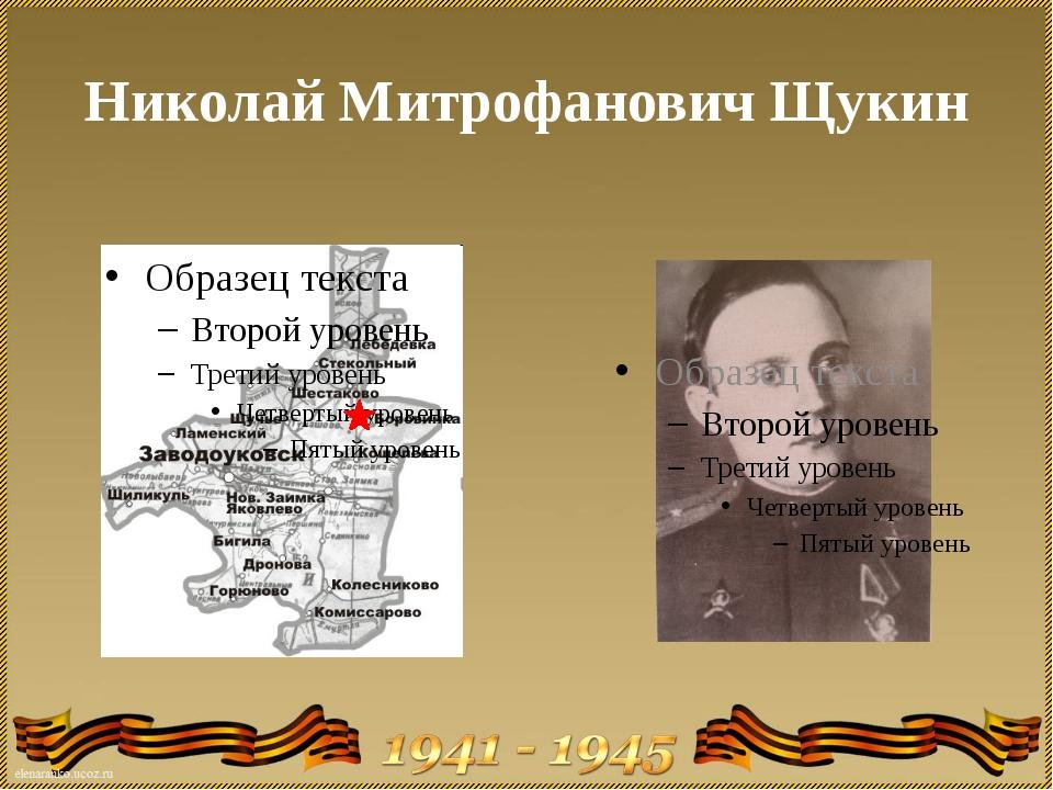 Николай Митрофанович Щукин