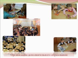 Организация дополнительного образования
