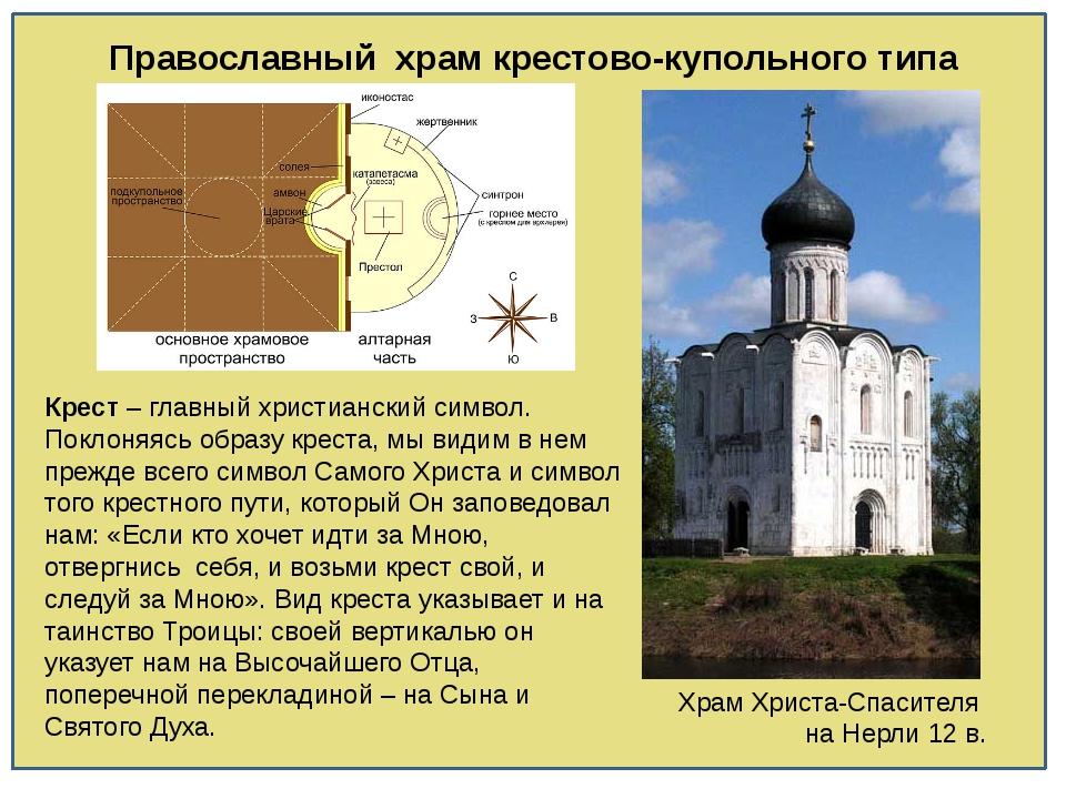Православный храм крестово-купольного типа Храм Христа-Спасителя на Нерли 12...