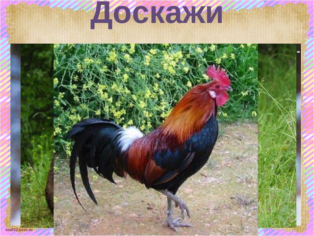 Доскажи словечко scul32.ucoz.ru