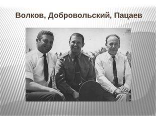 Волков, Добровольский, Пацаев