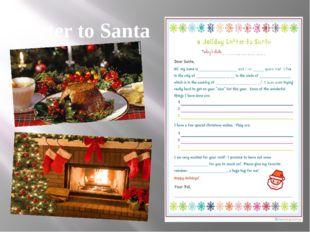Letter to Santa
