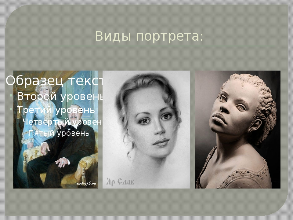 Виды портрета: