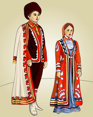 башкирский народный костюм фото