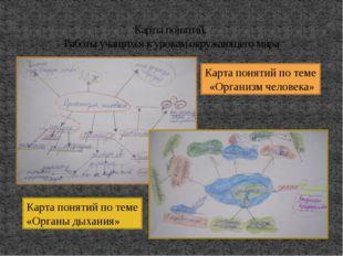 Карты понятий. Работы учащихся к урокам окружающего мира Карта понятий по тем