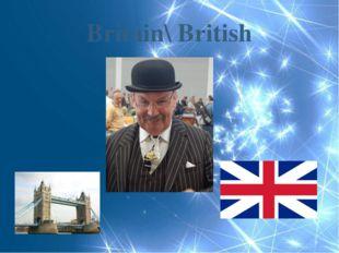 Britain\ British