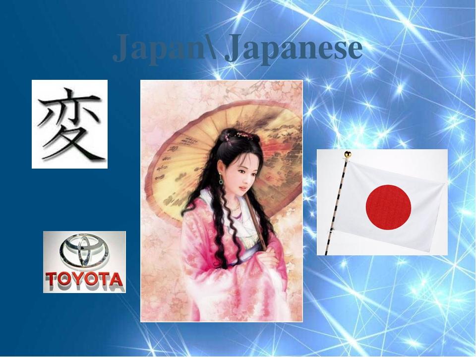 Japan\ Japanese