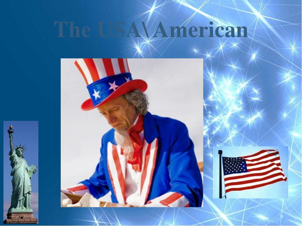 The USA\ American