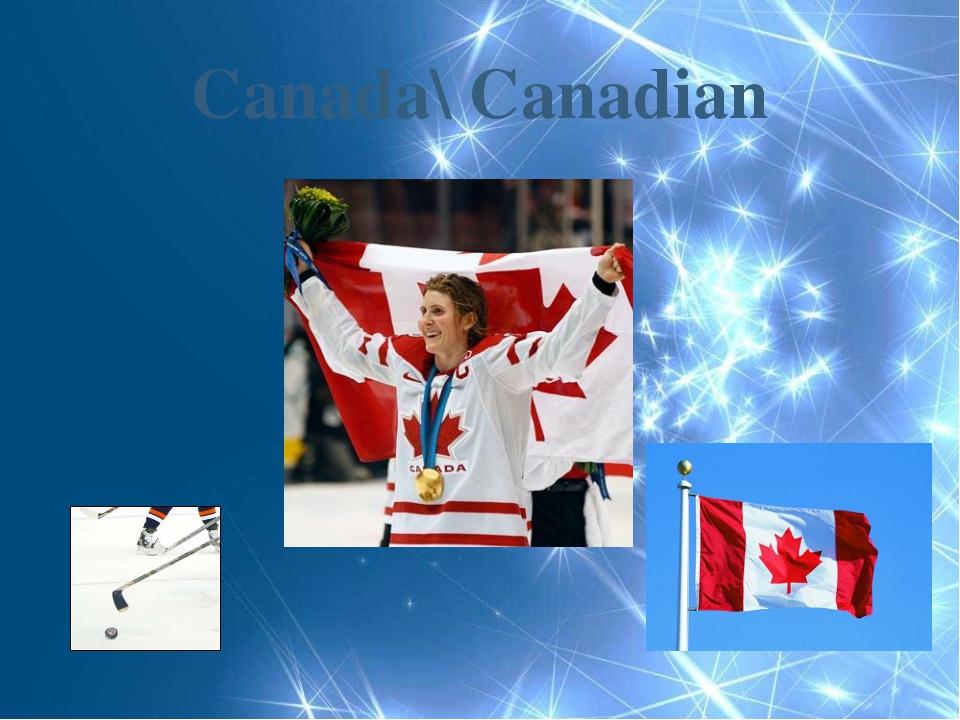 Canada\ Canadian