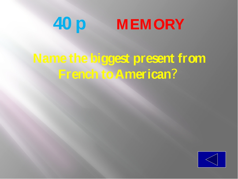 50 p  MEMORY Please name the father of waters in America