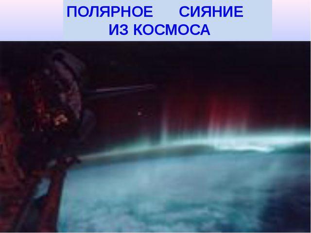 Полярные сияния других планет Солнечной системы Полярное сияние на Юпитере, с...