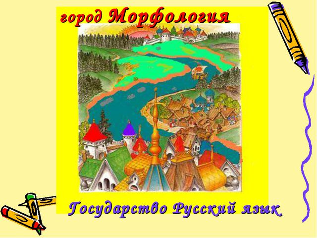 город Морфология Государство Русский язык
