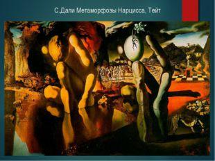 С.Дали Метаморфозы Нарцисса, Тейт