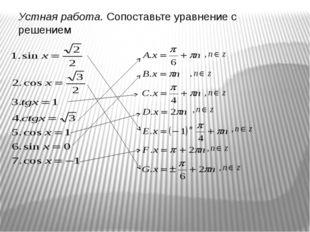 Самостоятельная работа на 5-7 минут 1 вариант sin (-π/3) cos 2π/3 tg π/6 ctg