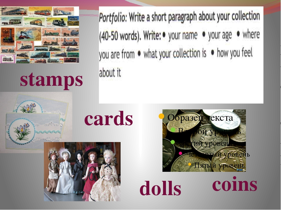 stamps coins cards dolls