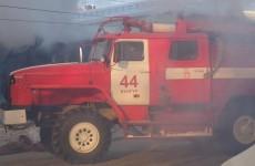Пожар в Кунгуре