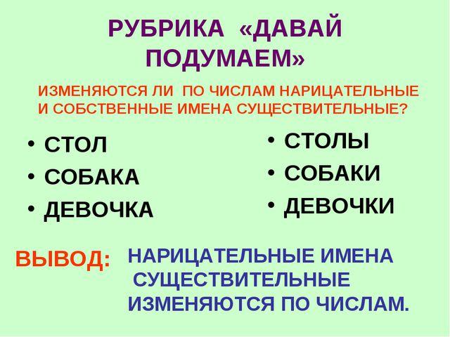 РУБРИКА «ДАВАЙ ПОДУМАЕМ» СТОЛ СОБАКА ДЕВОЧКА СТОЛЫ СОБАКИ ДЕВОЧКИ ИЗМЕНЯЮТСЯ...