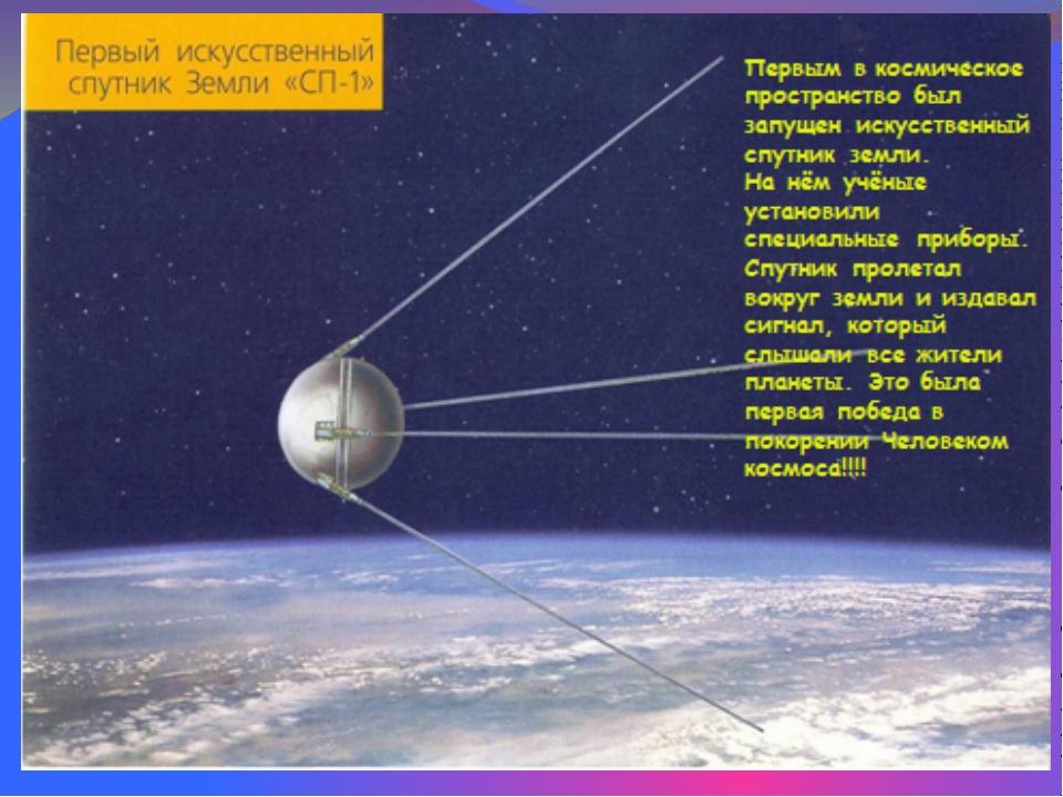 """Советский космическийкорабль """"Восток"""""""