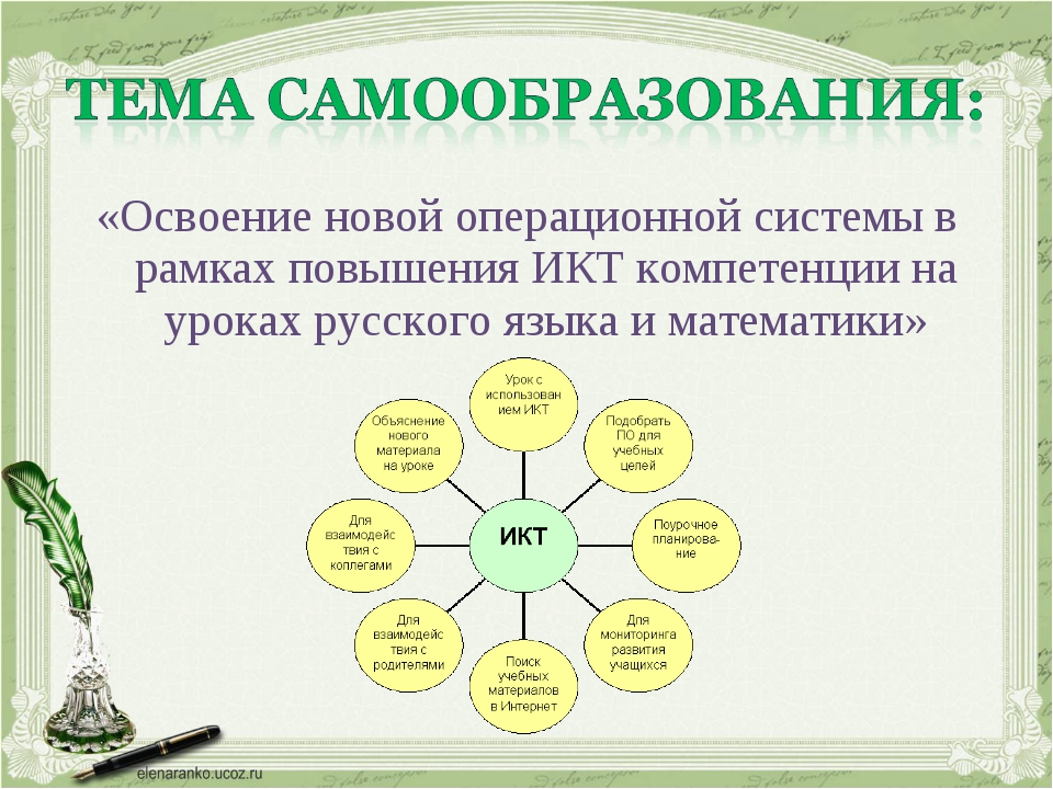 «Освоение новой операционной системы в рамках повышения ИКТ компетенции на ур...