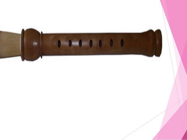 Грузинский народный музыкальный инструмент Дудук («абрикосовая труба» или «ду...