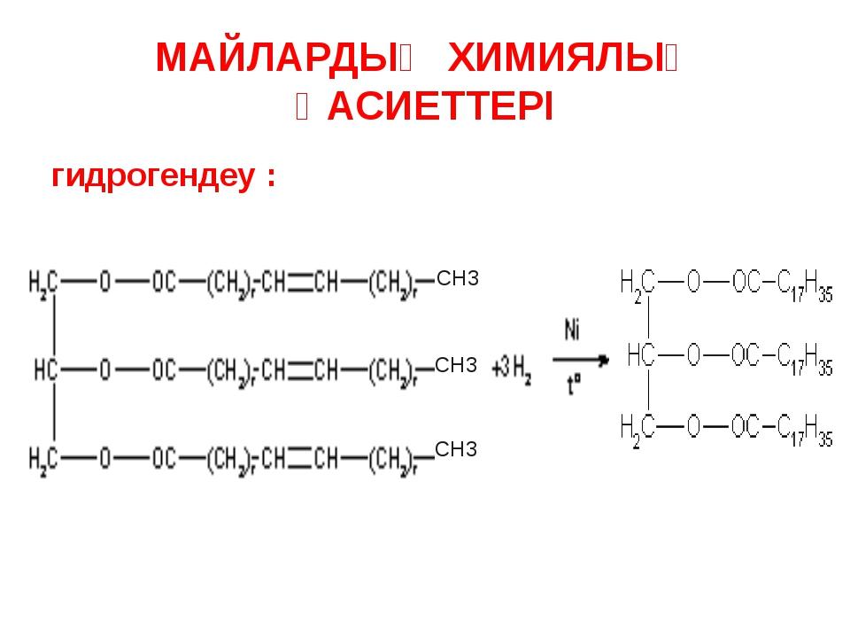 Натрий тұздары – қатты сабындар /С17Н35СООNa/ Калий тұздары – сұйық сабын /C...