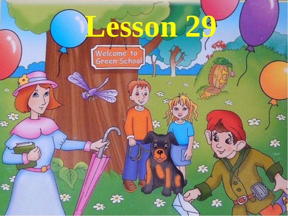Lesson 29